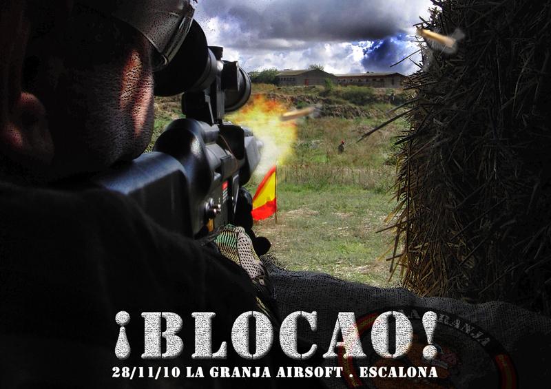 28/11/10 ¡Blocao! - La Guerra de África I - Partida Abierta - La Granja Airsoft Blocao10