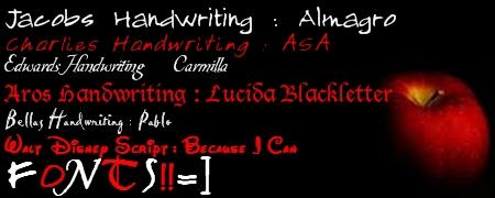 Bella's art Fonts10